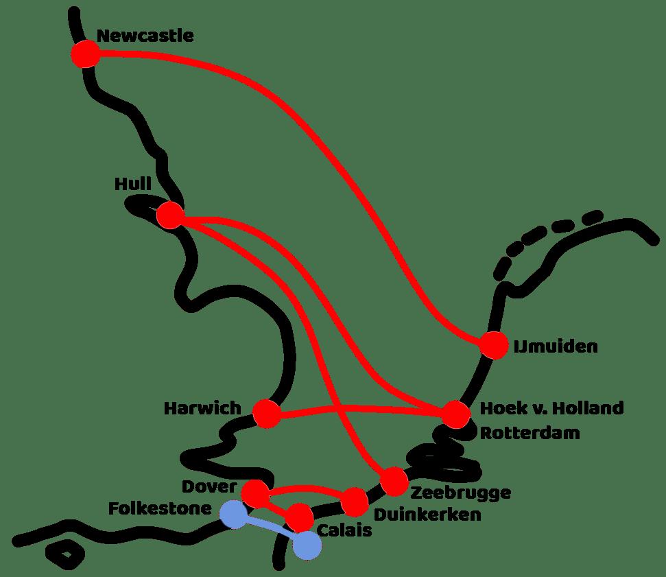 kaartje nederland engeland